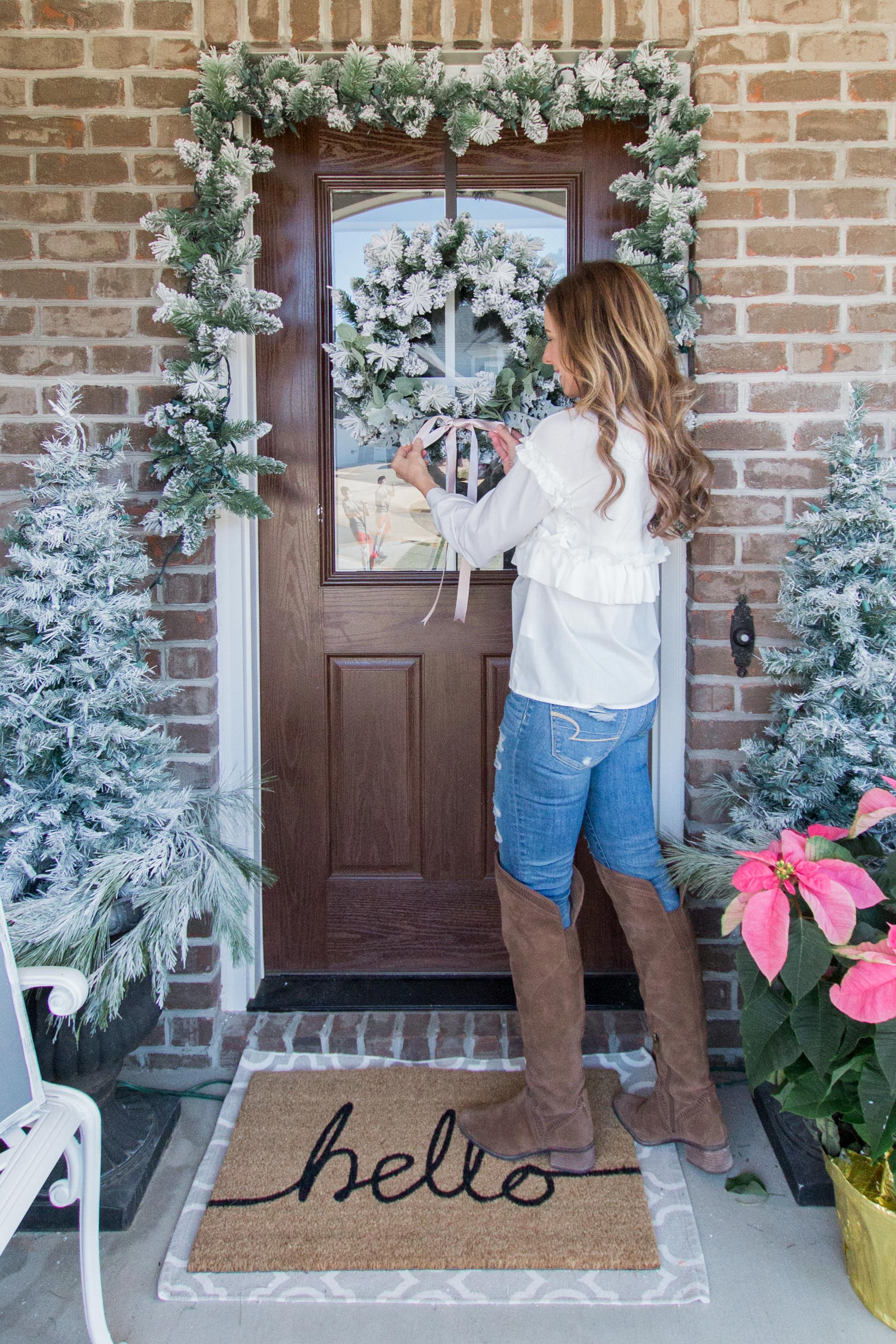 Modern Farmhouse Style Christmas Decor Home Tour