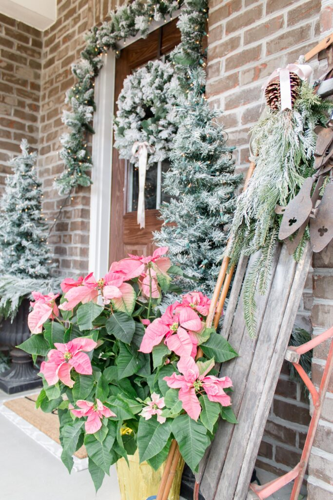 Light and Bright Modern Farmhouse Christmas Home Tour