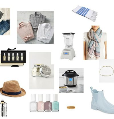 collage with mother's day gift ideas